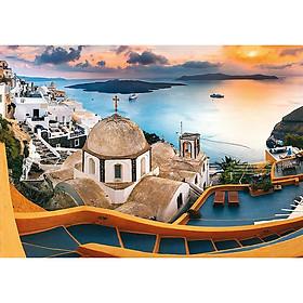 Tranh ghép hình 1000 mảnhTrefl 10445 Santorini ( jigsaw puzzle 1000 miếng)