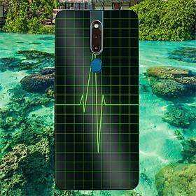 Ốp điện thoại dành cho máy Oppo F11 - Nhịp tim MS ACOTU001