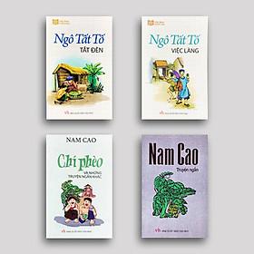 Combo 4 cuốn Văn học Việt Nam: Tắt Đèn + Việc Làng (Ngô Tất Tố) + Chí Phèo + Nam Cao Truyện Ngắn
