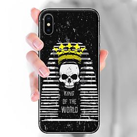 Ốp lưng dành cho iPhone X  mẫu King of the wolrd