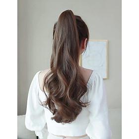 Tóc giả ngoặm xoăn kiểu Hàn siêu sang chảnh, cam kết y hình, giống tóc thật 100%, chất tơ Hàn cao cấp loại 1, chịu nhiệt tốt có thể bấm uốn, duỗi, gội thoải mái