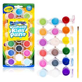 Bộ 18 Màu Và Cọ Tô Màu Crayola