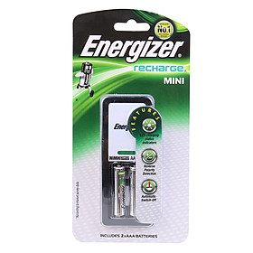 Máy Sạc Pin Energizer CH2PC3 + 2 Pin Sạc AAA