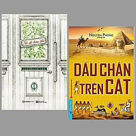 Combo 2 cuốn Tôi Đi Tìm Tôi + Dấu Chân Trên Cát/ Bộ sách kiến thức về kĩ năng sống hay nhất