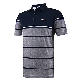 Áo Golf NGắn Tay Kẻ Ngang PGM Golf Soft Cothing YF060