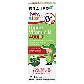 Vitamin D Brauer Úc dành cho trẻ sơ sinh trở lên (10ml)