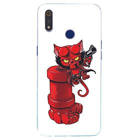 Ốp điện thoại dành cho máy Oppo Realme 3 - Red MS ABIDANG003