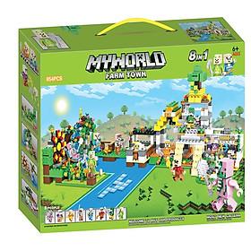 Bộ đồ chơi ghép hình My World LXA314
