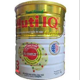 Sữa Bột Nutifood Nuti IQ Gold Step 3 (Từ 1 - 2 tuổi) - 1.5kg