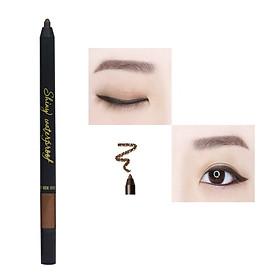 Chì kẻ mắt không trôi shiny water proof long wear gel pencil liner
