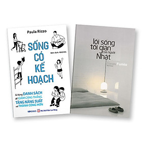 Bộ 2 cuốn sách: Sống có kế hoạch + Lối sống tối giản của người Nhật