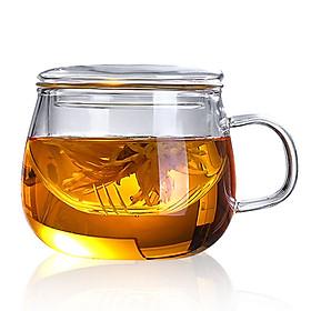 Hình đại diện sản phẩm Tea Cup Kettle Economic 350ml Glass Fruit Juice Home