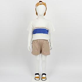 Bộ quần áo trẻ em thun cotton thoáng mát cho bé từ 2 tuổi đến 8 tuổi - Nhập khẩu Hàn Quốc