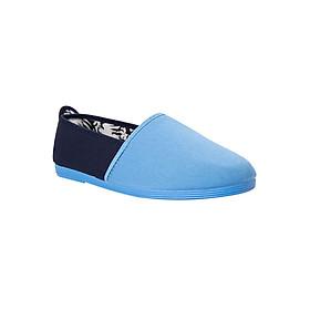 Giày Lười Nữ Flossy W Ollauri Baby Blue/Navy - Xanh