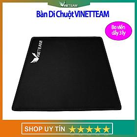 VINETTEAM Miếng lót chuột - Bàn di chuột V1 chơi game Mouse pad hình chữ nhật  21,5 x 17,5 cm  bo viền dày 3 li -  hàng chính hãng