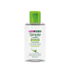 Nước Tẩy Trang Simple Micellar Cleansing Water - 100ml
