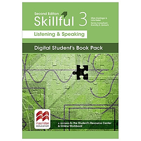 Skillful Second Edition Level 3 Listening & Speaking Student's Book + Digital Student's Book Pack
