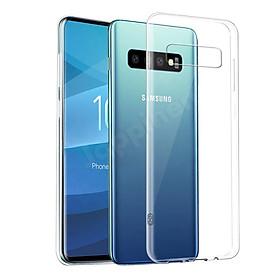 Hình đại diện sản phẩm Ốp lưng dẻo dành cho Samsung Galaxy S10 hiệu Ultra Thin mỏng 0.6mm chống trầy - Hàng chính hãng