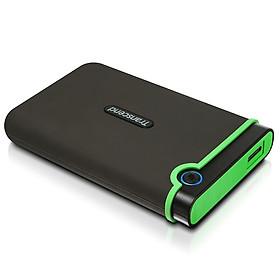 Hình đại diện sản phẩm Ổ Cứng Di Động Transcend StoreJet M3G 1TB USB 3.0 - TS1TSJ25M3G - Hàng Chính Hãng