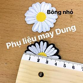 Dán ủi hoa cúc