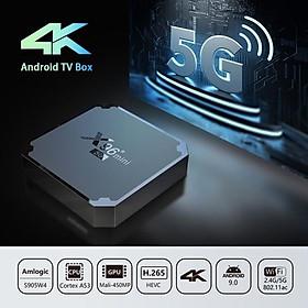 Android TV Box X96 MINI 5G – Dual Wifi, CPU S905W4, RAM 2GB, ROM 16GB