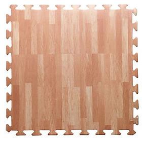 Bộ 9 miếng thảm xốp vân gỗ lót sàn 45 x 45 cm