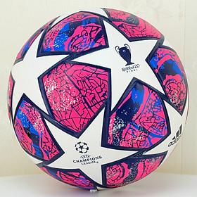 Quả bóng đá chuyên nghiệp UEFA champion league 2020 bóng đúc