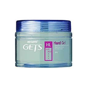 Gel vuốt tóc siêu cứng dành cho nam  mugens hard gel 330g