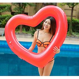 Phao bơi trái tim