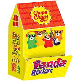 Kẹo dẻo Chupa Chups Panda House: 10 Gói kẹo dẻo Chupa chups vị Cola 24g + 10 Gói kẹo dẻo Chupa Chups vị Panda 24g