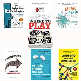 SÁCH -Where to play, Lãnh đạo,Truyền thông nội bộ, Tái tạo tổ chức, Công ty vĩ đại, SUPERBOSSES (Bộ)