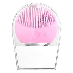 Máy Rửa Mặt LINA MINI Facial Cleansing Brush Làm Sạch Sâu NỘI ĐỊA TRUNG