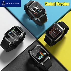 Đồng hồ thông minh Haylou LS02 2 Màn hình LCD 1.4 inch Bluetooth 5.0 12 đồng hồ thể thao IP68 Chống nước