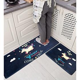 Combo 02 thảm nhà bếp cao cấp chống trượt (Màu ngẫu nhiên)