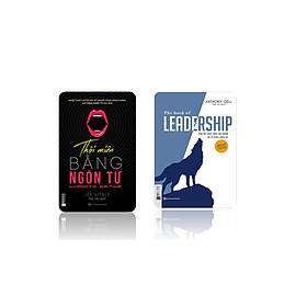 bộ sách LEADRSHIP dấn dắt bản thân và đội nhóm vươn xa - Thôi miên và ngôn từ bìa tím t
