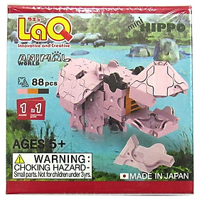 Đồ Chơi Đố Trí LaQ Animal World Mini Hippo