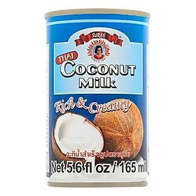 10 lon  Nước Cốt Dừa Suree - 165ml