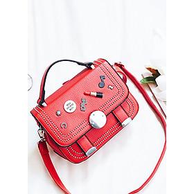 Hình đại diện sản phẩm Túi xách nữ đeo chéo kiểu túi xách đính hình son môi TX2036
