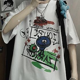 Áo thun nam nữ form rộng Yinxx, áo phông tay lỡ ATL135