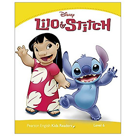 Level 6: Disney Lilo + Stitch (Pearson English Kids Readers)