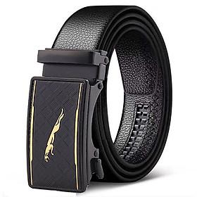 Thắt lưng nam, dây nịt nam khóa tự động dây da bền đẹp TOPEE - Phong Cách Hiện Đại TLP-089