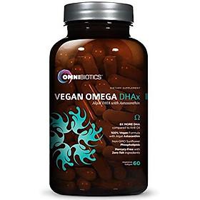 Vegan DHA   MD-Certified Prenatal DHA   8X MORE DHA than Krill Oil! Fish-Free Omega Essential Fatty Acids - Algal Omega-3, Omega-6, DHA   60 vegetarian softgels