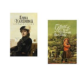 Combo 2 cuốn sách: Anna Karenina  tập 2 + Anne tóc đỏ dưới mái nhà bạch dương
