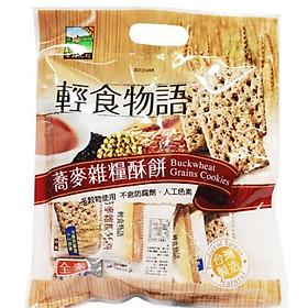 Bánh ngũ cốc kiều mạch Jiahehome Đài Loan 330g (gói)