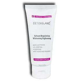 Sửa Rửa Mặt Chăm Sóc Da Mụn Nhạy Cảm Detox BlanC Clear Skin Control (mẫu mới)
