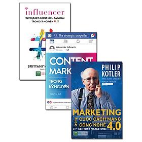 Combo Marketing - Branding Trong Thời Đại 4.0 (Bộ 3 Cuốn)