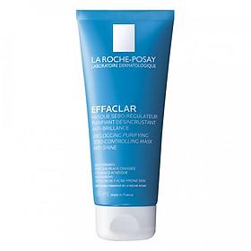 Mặt nạ bùn làm sạch sâu, giảm mụn & giảm bóng nhờn La Roche-Posay Effaclar Sebo-Controlling Mask (100ml)