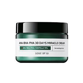 Combo 2 sản phẩm Tinh chất ngăn ngừa Some By Mi AHA-BHA-PHA 30 Days Miracle Serum 50ml và Kem Dưỡng ngăn ngừa Some By Mi AHA-BHA-PHA 30 Days Miracle Cream 50ml