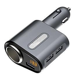 Tẩu 2 cổng USB cho ô tô - bộ chia tẩu sạc ô tô