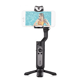 Hohem iSteady V2 3-Axis AI Smart Tracking Palm Gimbal Handheld Smartphone Stabilizer Gesture Control with Beauty Light